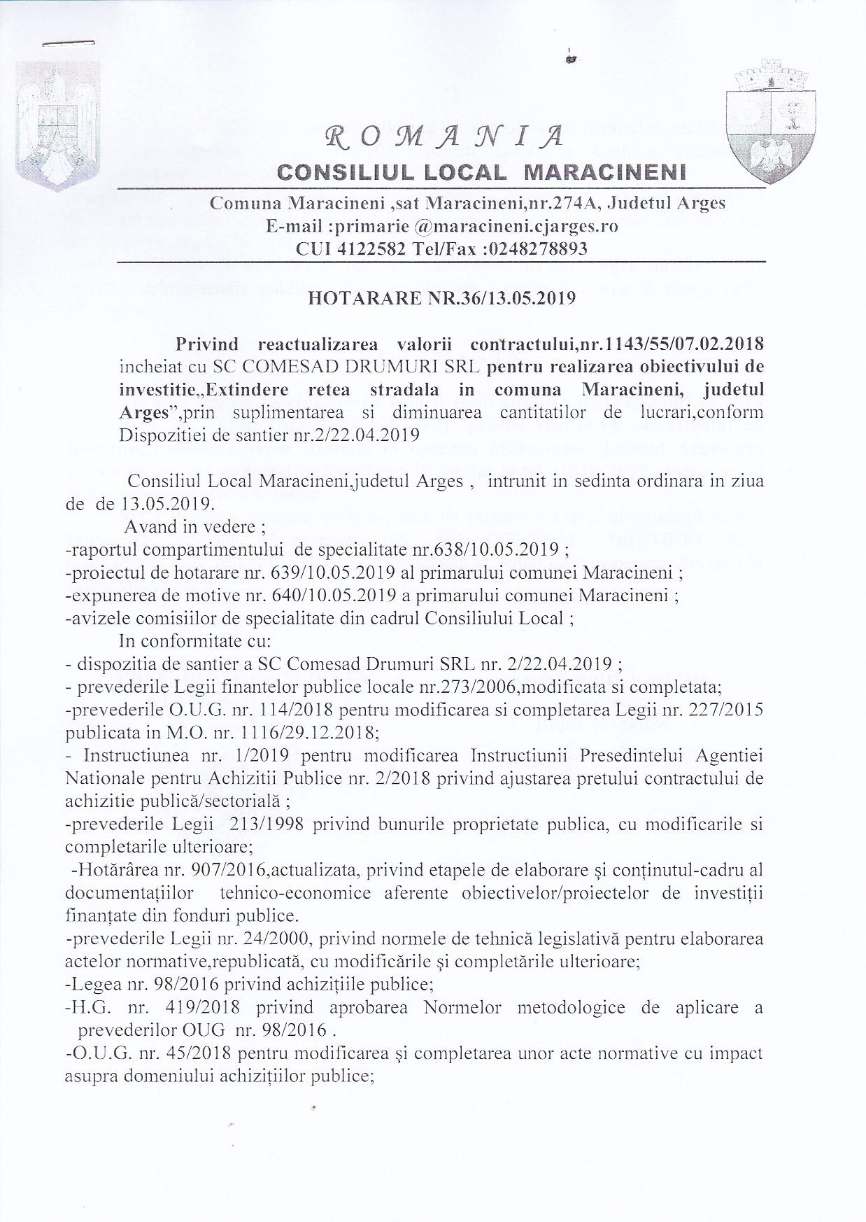 DOSAR SEDINTE - PROIECTE DE HOTARARI ALE CONSILIULUI LOCAL - Primaria Comunei Selimbar